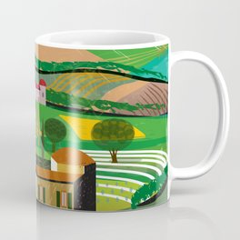 Green Fields Coffee Mug