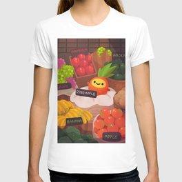 Pineapple NANA in the market T-shirt