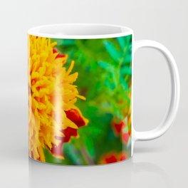 Orange Tagetes flower Coffee Mug
