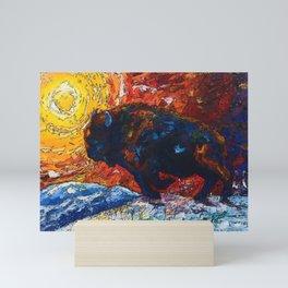 Wild the Storm Mini Art Print