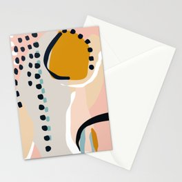 modern abstract Stationery Cards