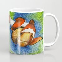 nemo Mugs featuring I Found Nemo by Heather Torres Art