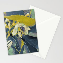 Bee in a Lime tree Stationery Cards