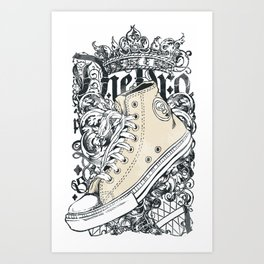 SHOES--DESIGN Art Print