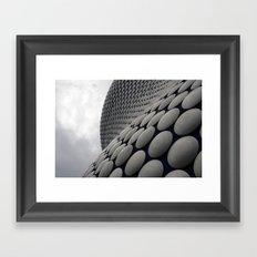Wall Of Disks Framed Art Print