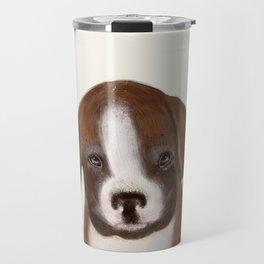 little boxer Travel Mug