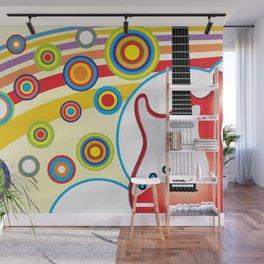 Guitar Wall Mural