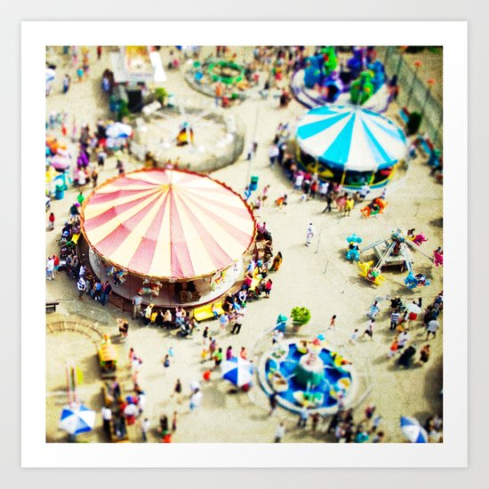 Coney Island Art Print