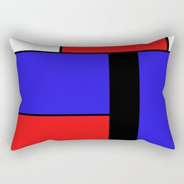 Mondrian #69 Rectangular Pillow