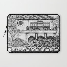 Bel Air Mansion Laptop Sleeve