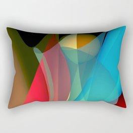 floating colors -b- Rectangular Pillow