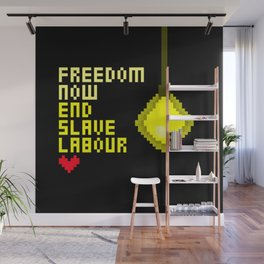 End Slave Labour #2 Wall Mural