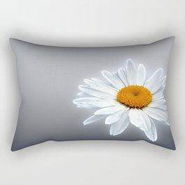 Glowing Daisy Rectangular Pillow