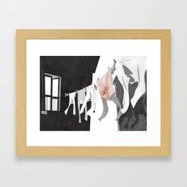 Domestic News Framed Art Print