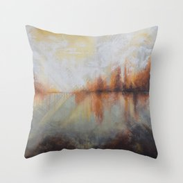 In Time Throw Pillow