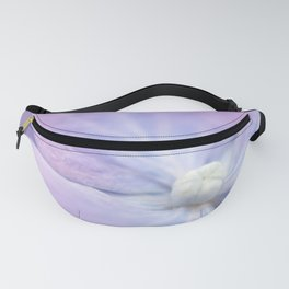 Blue and Purple Hydrangea Blossom Fanny Pack
