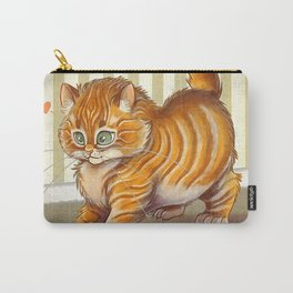 Orange Kitten Carry-All Pouch