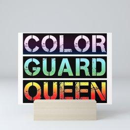 Color Guard Queen Mini Art Print