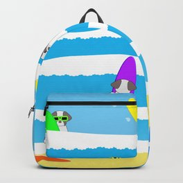 Totally Shih Tzu Surf Backpack