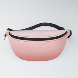 Creamy Coral | Pastel Ombre Fanny Pack