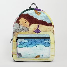 Mermaid sleeping Backpack