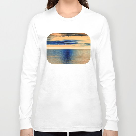 Sunset at Sea 07 Long Sleeve T-shirt
