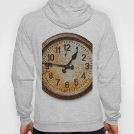 Old wall clock Hoody
