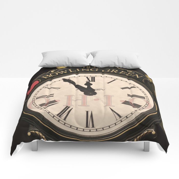 Nearly the Midnight Hour Comforters