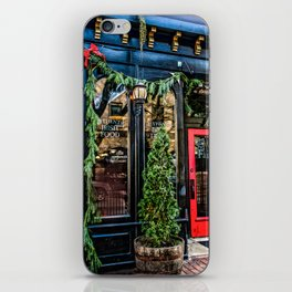 Kildares Irish Pub at Christmastime iPhone Skin