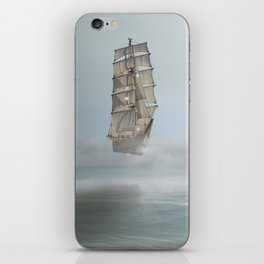 there's no mystery at all iPhone Skin