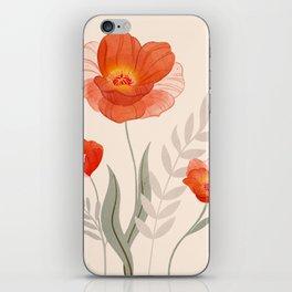 Summer Flowers II iPhone Skin