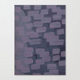 Purple Dash Canvas Print