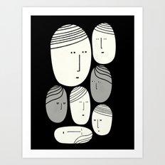FACCE Art Print