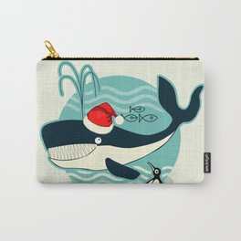 Where is Santa Claus? (background) Carry-All Pouch