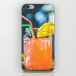 happy coctail iPhone Skin