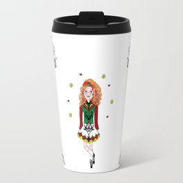 Irish Dancing Girl Travel Mug