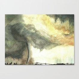 Tornado Canvas Print