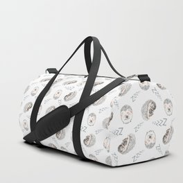 Sleepy Hedgehogs Duffle Bag