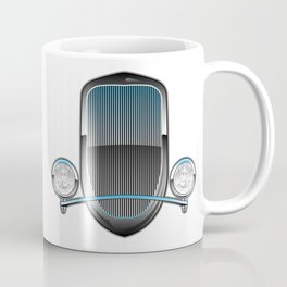 1930s Style Street Rod Car Grill Coffee Mug