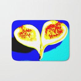 Big Fig Heart Bath Mat