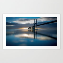 Amazing Hong Kong Zhuhai Macau Bridge Across Pearl River China Asia Ultra HD Art Print