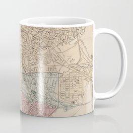 Vintage Map of Cambridge Massachusetts (1891) Coffee Mug