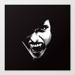 Scary Female Vampire Canvas Print