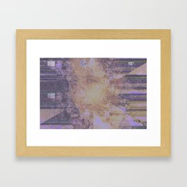 Fading into obscurity. Framed Art Print