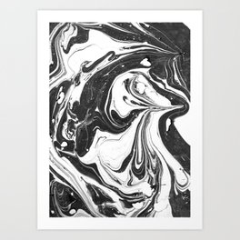Marbling 2 Art Print