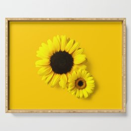 You're a Sunflower Serving Tray