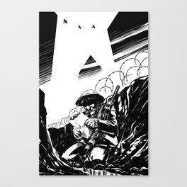 Trinchera Canvas Print