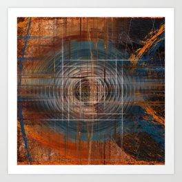 Unoccupied Digital Landscape Art Print