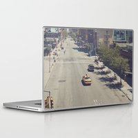 taxi driver Laptop & iPad Skins featuring taxi... by Chernobylbob