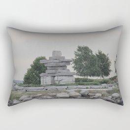 Inukshuk Rectangular Pillow